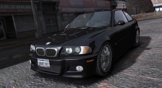 BMW M3 e46 Stock для Grand Theft Auto IV