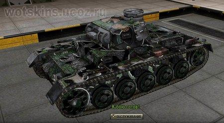 Pz III Ausf A #4 для игры World Of Tanks