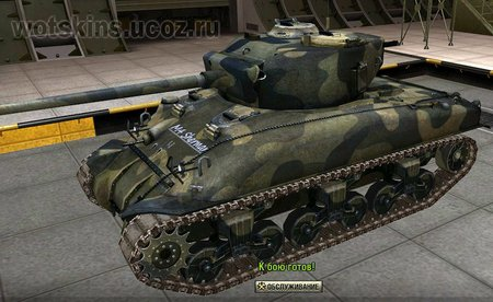 M4 Sherman #18 для игры World Of Tanks