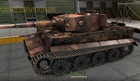 Tiger VI #115 для игры World Of Tanks