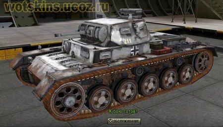 Pz III Ausf A #5 для игры World Of Tanks