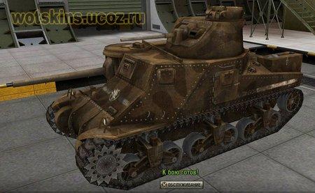 M3 Lee (M3 Grant) #10 для игры World Of Tanks