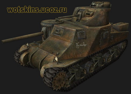 M3 Lee (M3 Grant) #13 для игры World Of Tanks