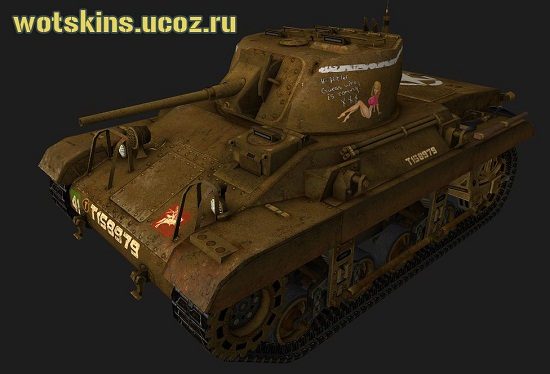 M22 Locust #9 для игры World Of Tanks