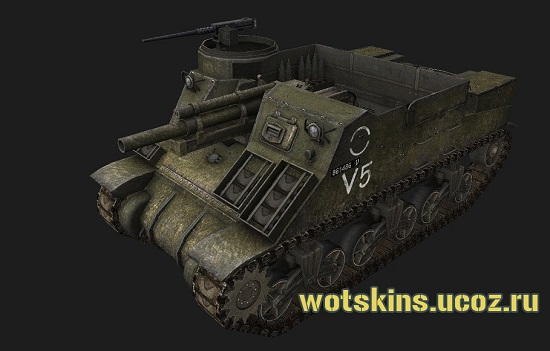 M7 Priest #16 для игры World Of Tanks