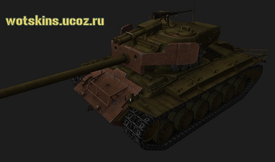 Super Pershing #25 для игры World Of Tanks
