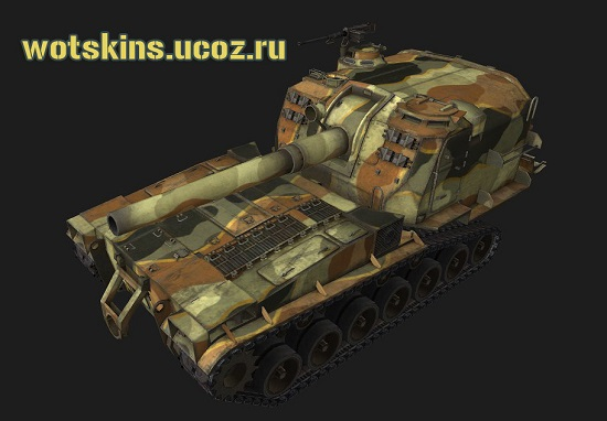 M53/M55 #1 для игры World Of Tanks
