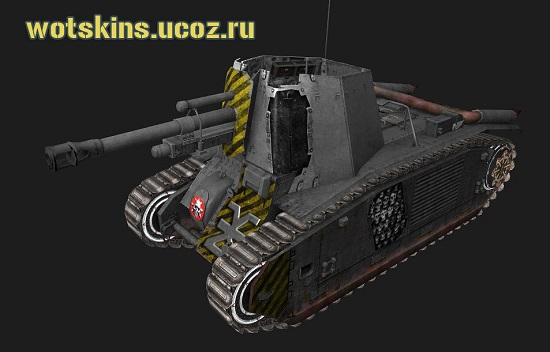 105 leFH18B2 #6 для игры World Of Tanks