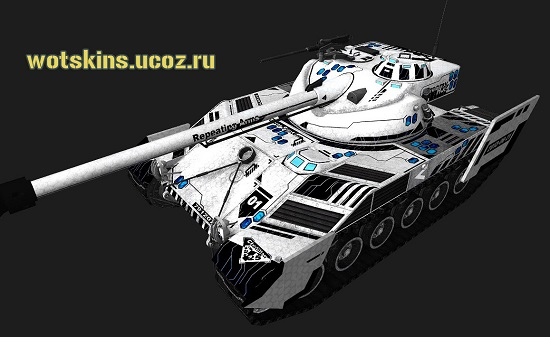 Bat Chatillon25t #44 для игры World Of Tanks
