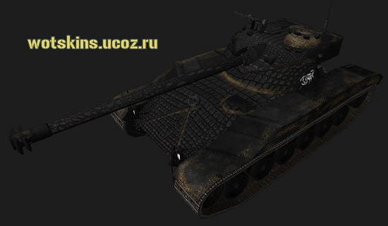 Bat Chatillon25t #45 для игры World Of Tanks