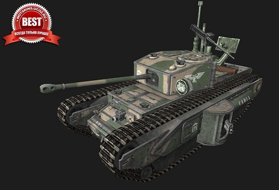 Churchill I #9 для игры World Of Tanks