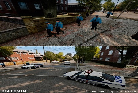 Много полицейских GTA 4