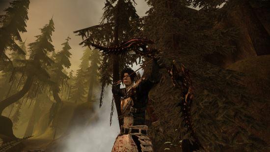 Лук Осколка Судьбы для Dragon Age: Origins