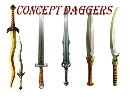 Concept Daggers для Dragon Age: Origins