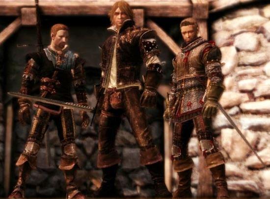 The Witcher 2 DAO для Dragon Age: Origins