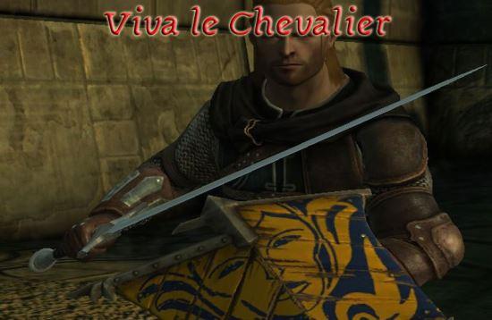 Viva le Chevalier для Dragon Age: Origins