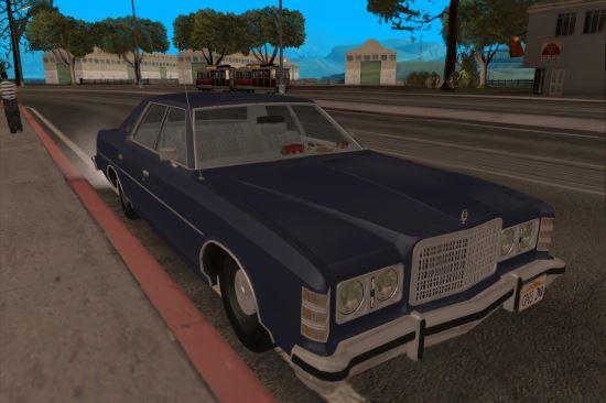 1975 Ford LTD 4-DR для GTA: San Andreas