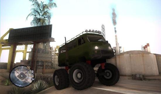 Monster UAZ для GTA: San Andreas