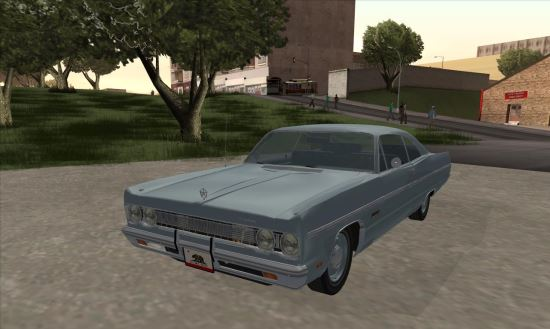 Plymouth Fury III Coupe 1969 для GTA: San Andreas