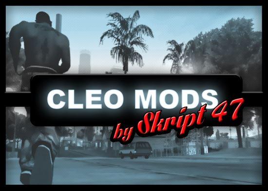 Cleo Mods Pack 1 для GTA: San Andreas