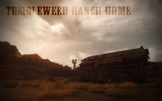 Дом на ранчо