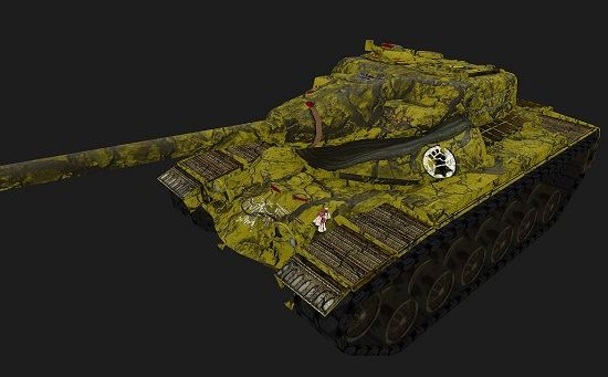 T54E1 #11 для игры World Of Tanks