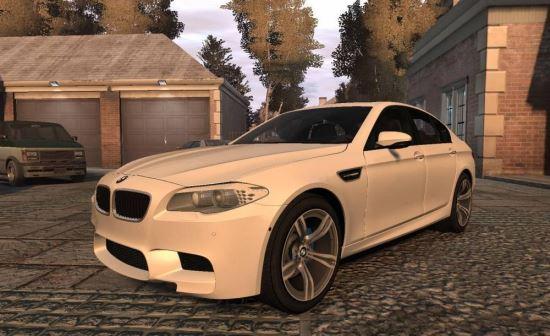 BMW M5 F10 2012 для Grand Theft Auto IV