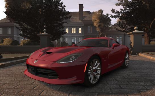 2013 SRT Viper GTS для Grand Theft Auto IV