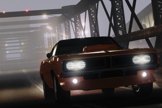 Dodge Charger RT 1969 для Grand Theft Auto IV