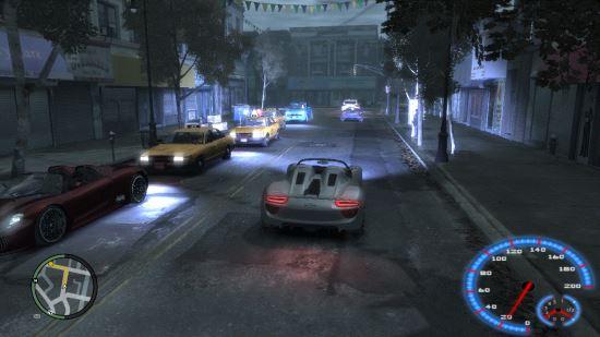 Набор авто для Grand Theft Auto IV