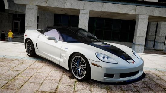 Chevrolet Corvette ZR1 2009 для Grand Theft Auto IV