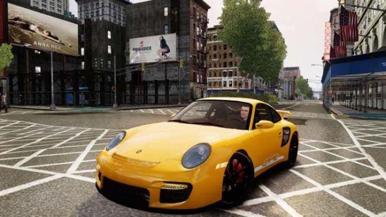 Porsche 977 GT2 для Grand Theft Auto IV