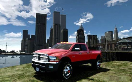Dodge Ram 3500 Stock для Grand Theft Auto IV