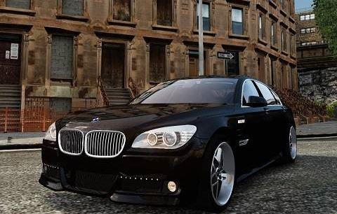 BMW 7 Hamann F 02 для Grand Theft Auto IV