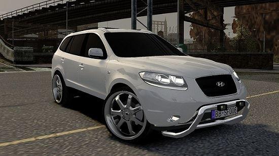 Hyundai Santa Fe Tuning для Grand Theft Auto IV