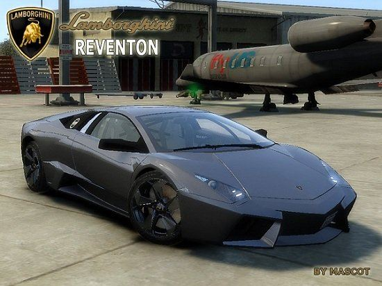 Lamborghini Reventon 08 by Mascot для Grand Theft Auto IV