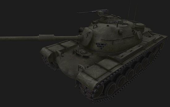 M48A1 #29 для игры World Of Tanks