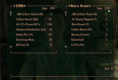 Rich Vendors / Больше денег у торговцев для Fallout 3