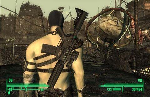 Кольт M4A1 или M16 в четырех вариантах для Fallout 3