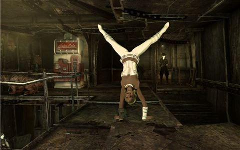 Umpa Animation+Groovatron / Супер мод для танцев в fallout 3! для Fallout 3