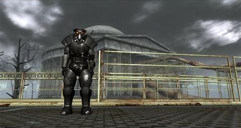 Классическая броня Анклава для Fallout 3