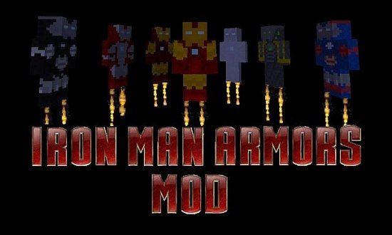 Моды Minecraft, 1.6.4 Iron Man Armors