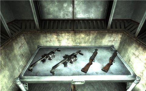 Ahztek weapons - огромный пак реального оружия - на русском для Fallout 3