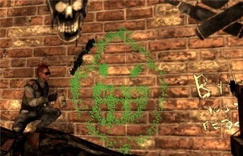 Wasteland Tagging 3000 / Рисуем граффити для Fallout 3