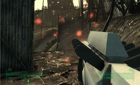 AMR-B04 лазерная винтовка из