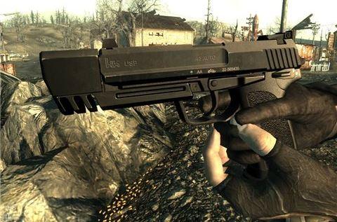 HK USP - на русском для Fallout 3