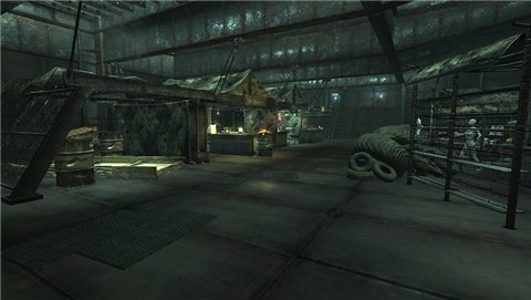 Clutter Free World / Мир без мусора v 1.0 для Fallout 3