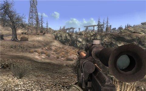 Снайперская Винтовка Драгунова - на русском для Fallout 3