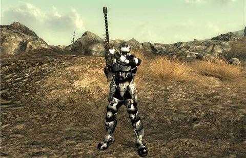 Броня Нео-Комбайна / Neo Combine Armour 1.1 - на русском для Fallout 3
