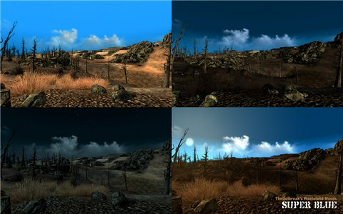 TheOutbreaks Wasteland Moods Series - тотальное изменение погоды для Fallout 3